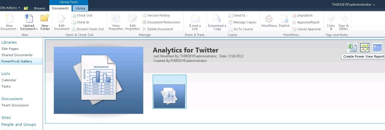 Microsoft Twitter Analytics Tools(Consuming Big Data from Hadoop ...